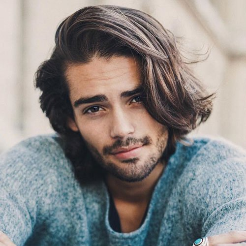 Medium Long Hairstyles For Men