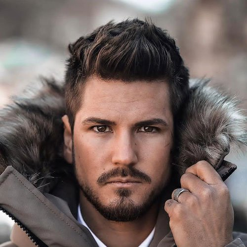 Medium Short Hairstyles For Men