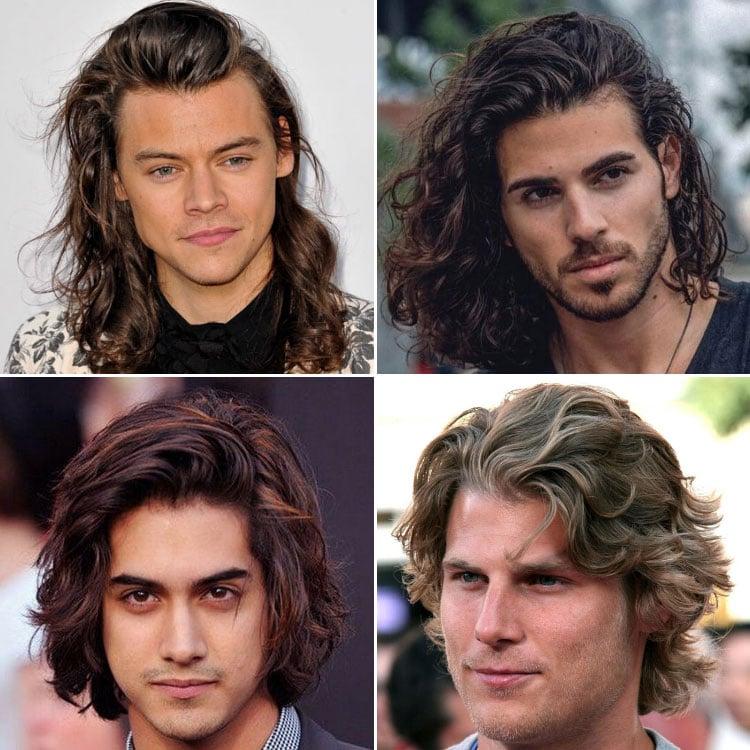 Textured Long Wavy Hair