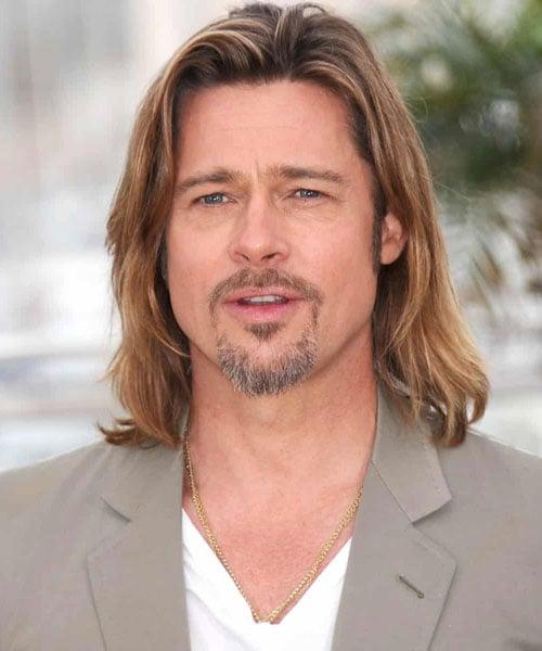 Brad Pitt Long Hair