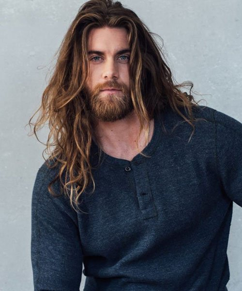 Brock O'Hurn Long Hair