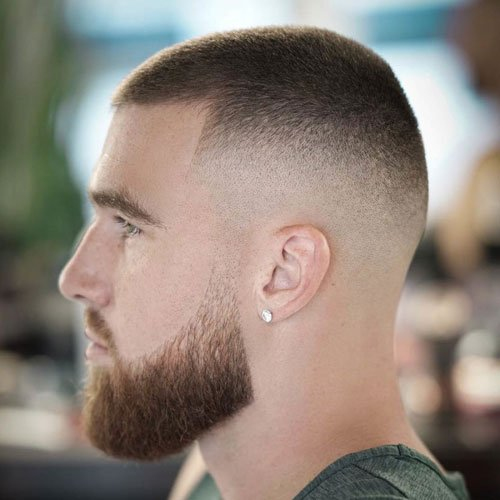 Buzz Cut with Beard