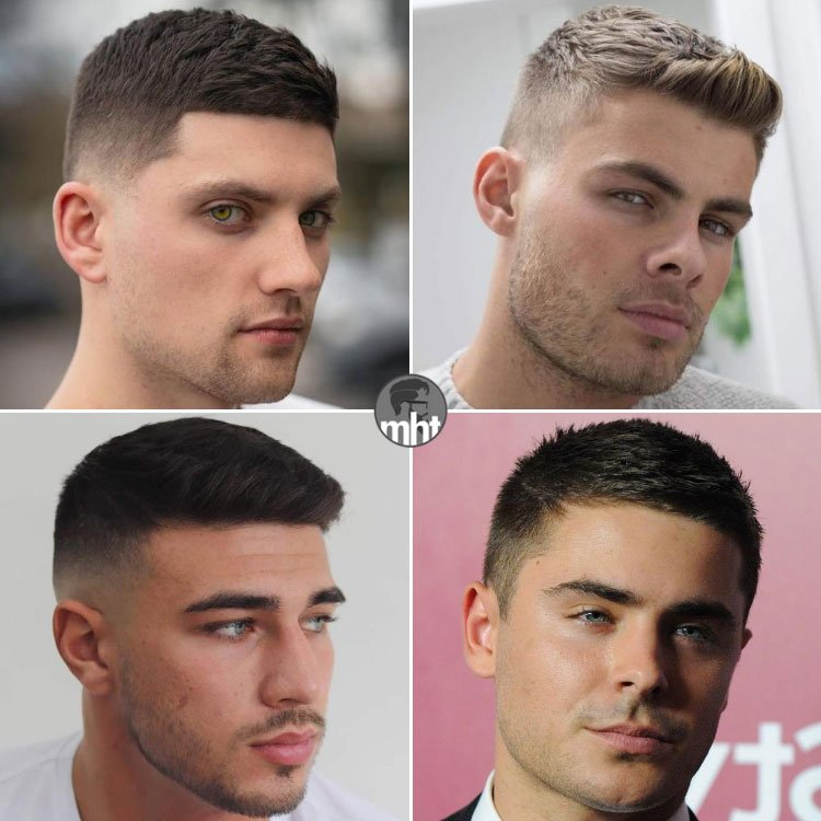 Crew Cut Hairstyles For Thick Hair Men