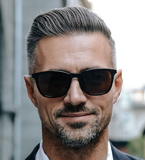 Ivy League Undercut Hairstyle