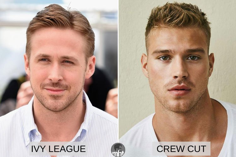 Ivy League vs Crew Cut