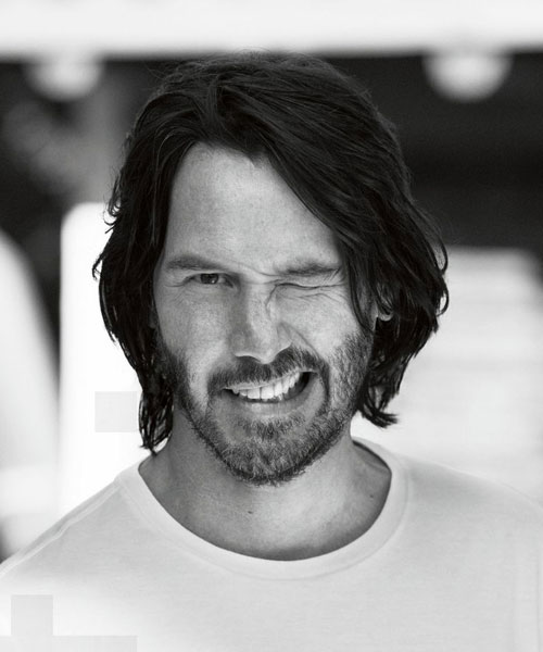 Keanu Reeves Long Hair