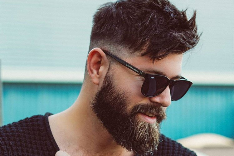 Medium Length Beard Style