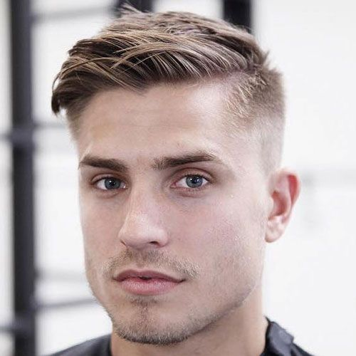 Medium Length Ivy League Haircut