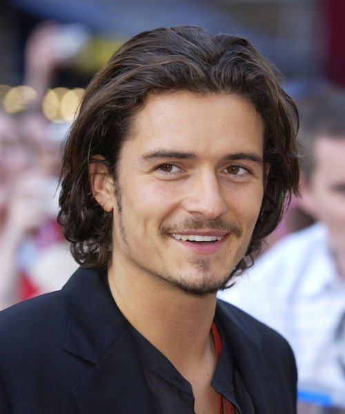 Orlando Bloom Long Hair