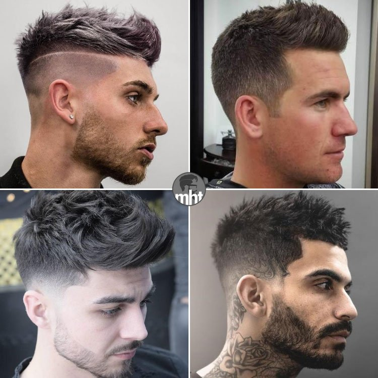 Short Quiff Haircuts For Men