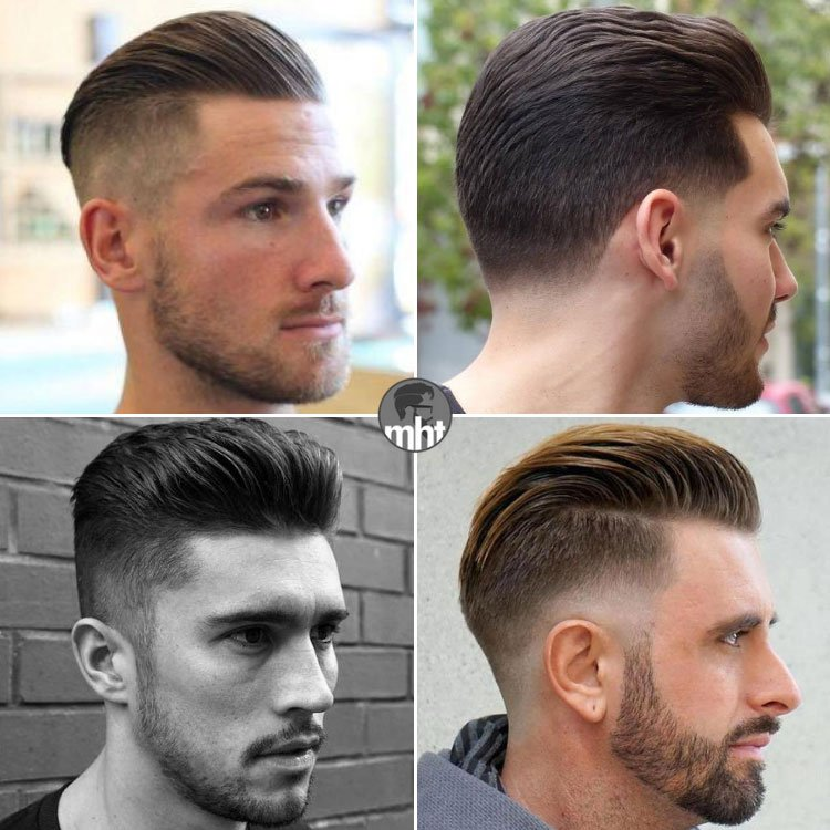 Short Slicked Back Hairstyles