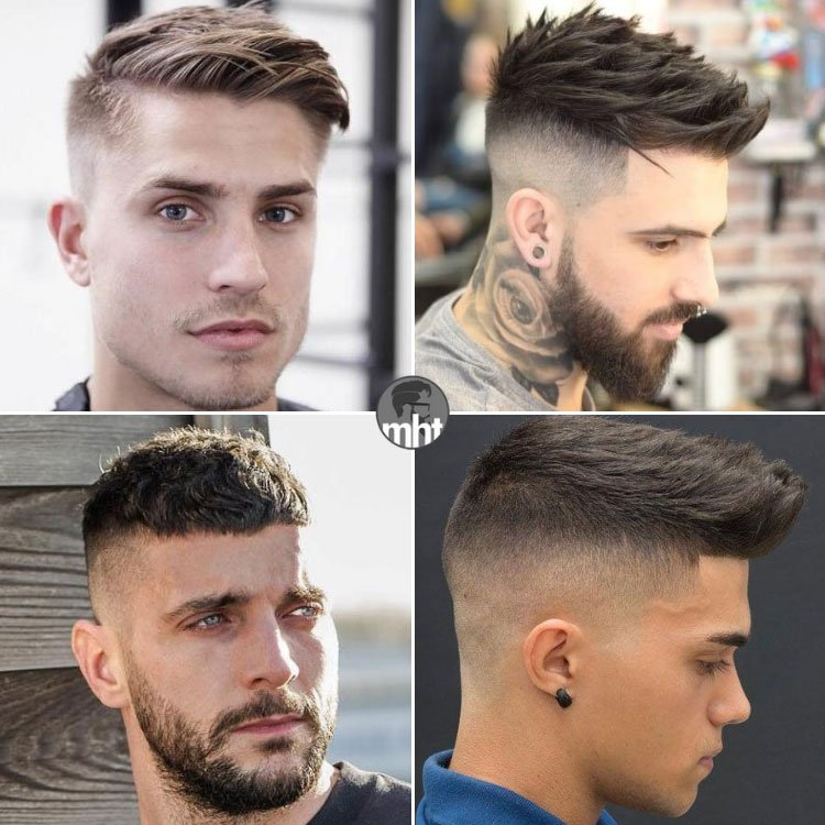 Short Textured Thick Hair Men