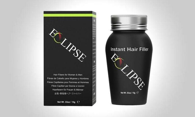 Eclipse Hair Building Fibers And Beard Filler
