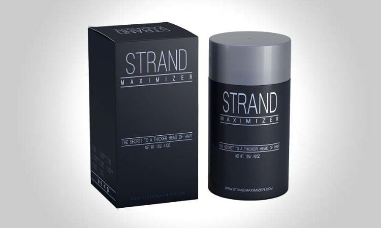 Strand Maximizer Hair Fibers