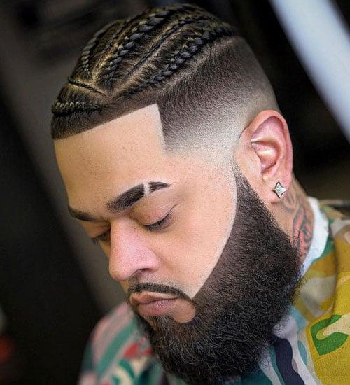 4 Braids Men