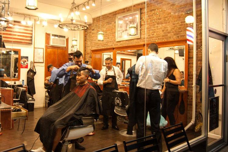 Barber's Blue Print