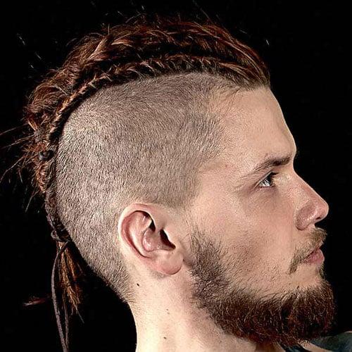 Braided Mohawk Hairstyle Men