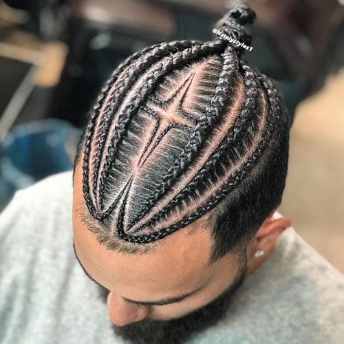 Feed In Braids For Long Hair Men
