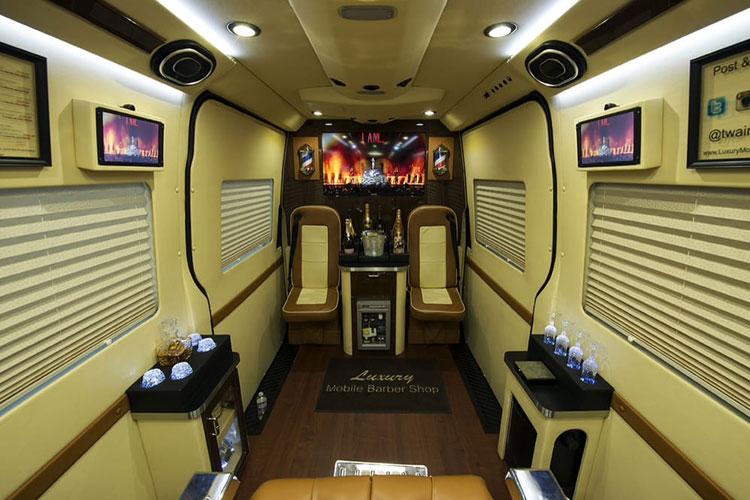 Luxury Mobile Barbershop