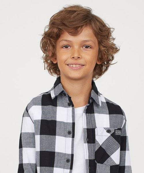 Medium Length Layered Cuts For Boys