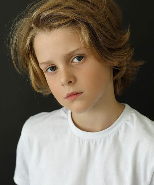 Natural Long Hairstyles For Boys