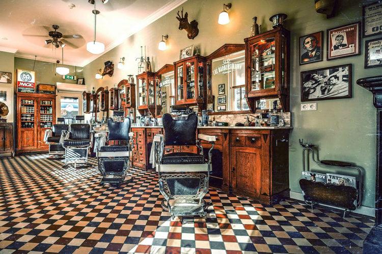 Barber Shop Flooring