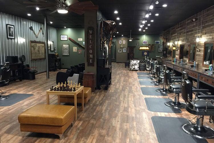 Barber Shop Floors
