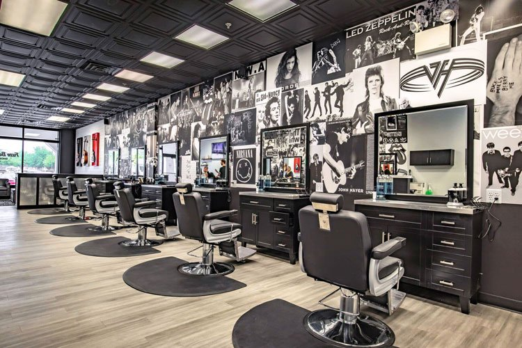 Barber Shop Wall Decorations