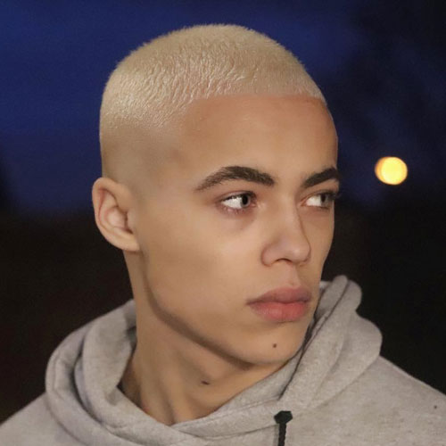 Blonde Butch Cut Hairstyle