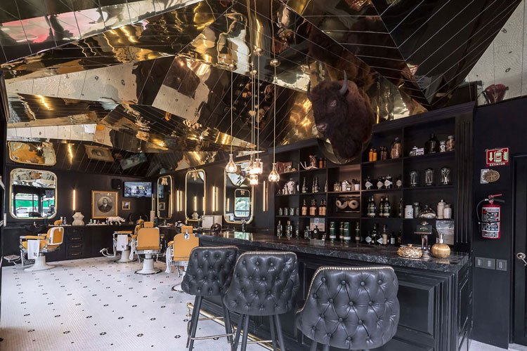 Build A Bar In Your Barber Shop