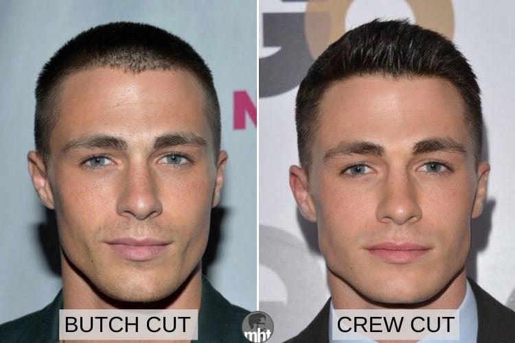 Butch Cut vs Crew Cut