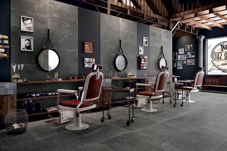 Modern Barber Shop Interior Design