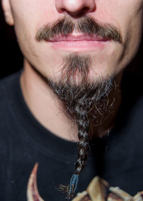 Braided Goatee