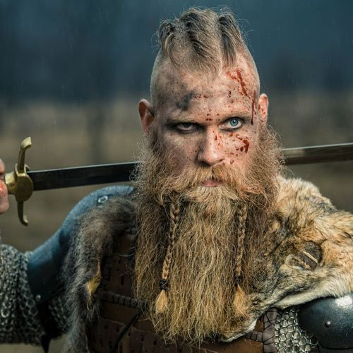 Viking Beard Braid Styles