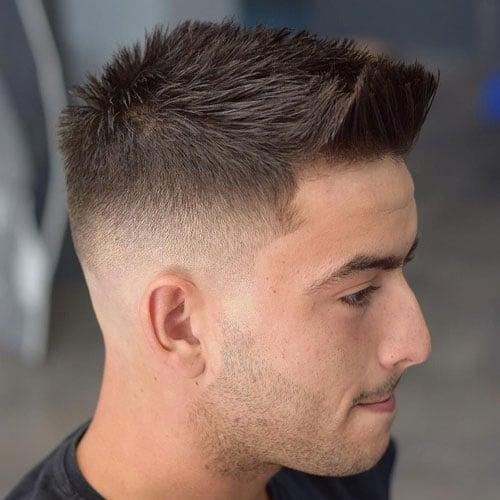 Crew Cut Low Fade Haircut