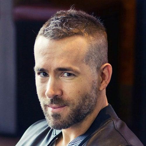 Crew Cut Taper Fade Haircut and Beard