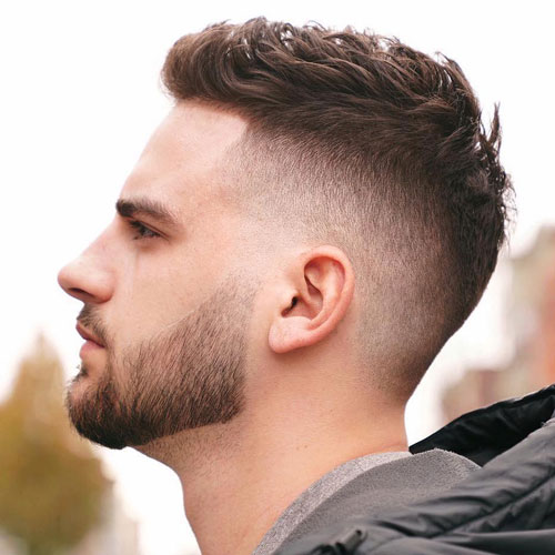Crew Cut and High Fade