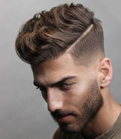 Short Hair Low Fade Haircut
