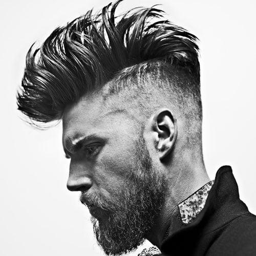 Bald Fade Mohawk Haircut