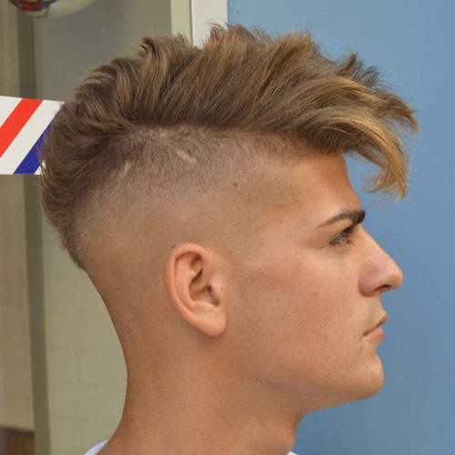Bald Fade Mohawk