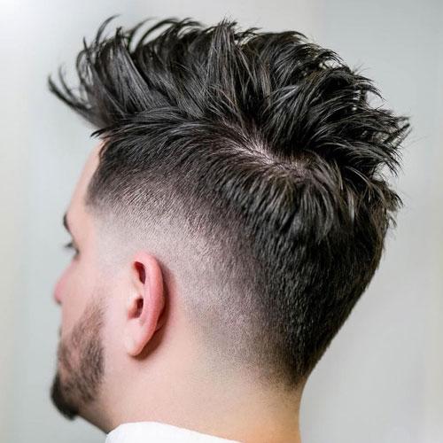 Drop Fade Mohawk Haircut