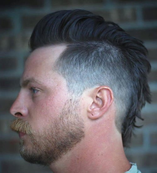 Full Mohawk Fade Hairstyle