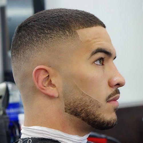 High Medium Fade Haircut