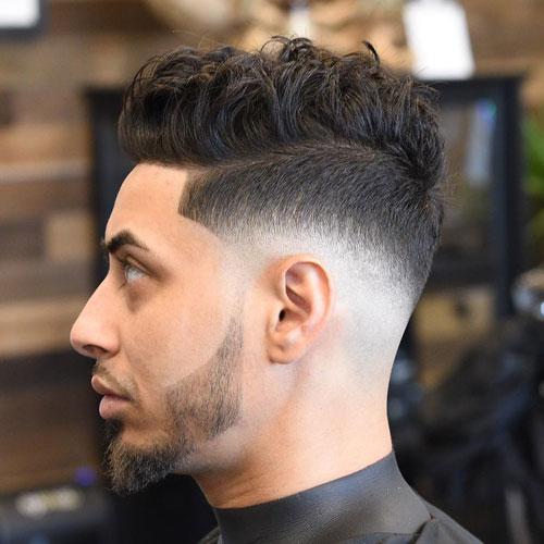 Low Mid Fade Haircut