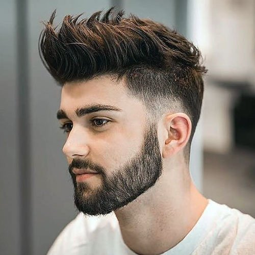 Medium Taper Fade Haircut