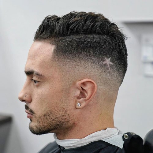Mid Fade Haircuts For Men