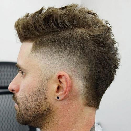 Mid Fade Mohawk Haircut