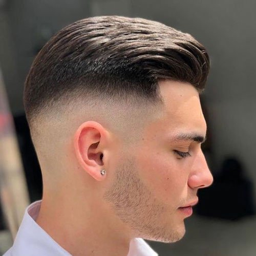 Mid Fade Textured Top