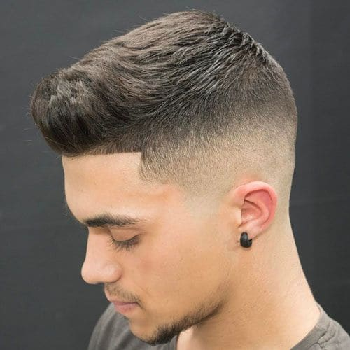 Mid Fade with Line Up