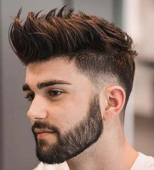 Mohawk Low Fade Haircut